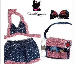 Dog Bathing Suit, Girl, Dog Swimsuit, Skirt, Summer, Clothes