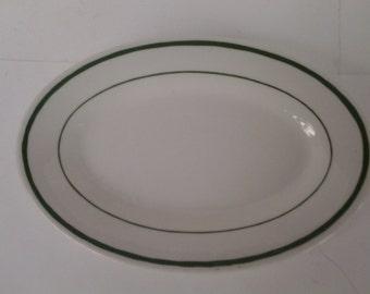 Buffalo China oval small plate