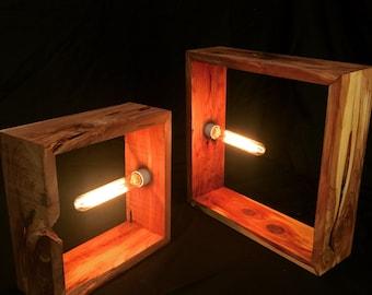 Ultra Modern Cedar Table Lamp
