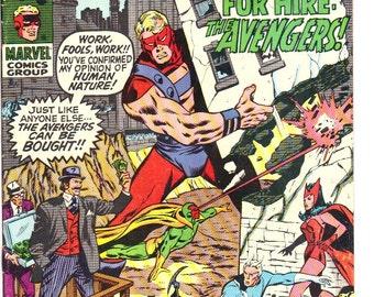 Avengers #77 (1970) VF 8.0