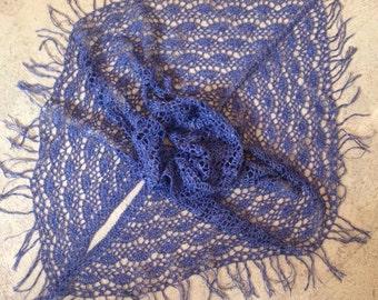Crochet Shawl linen