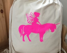 Fairy & Unicorn Backpack