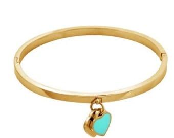 Heart love bracelet