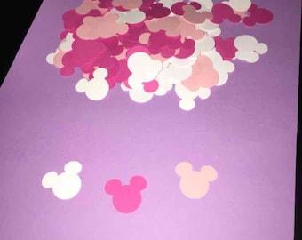 Minnie mouse table confetti