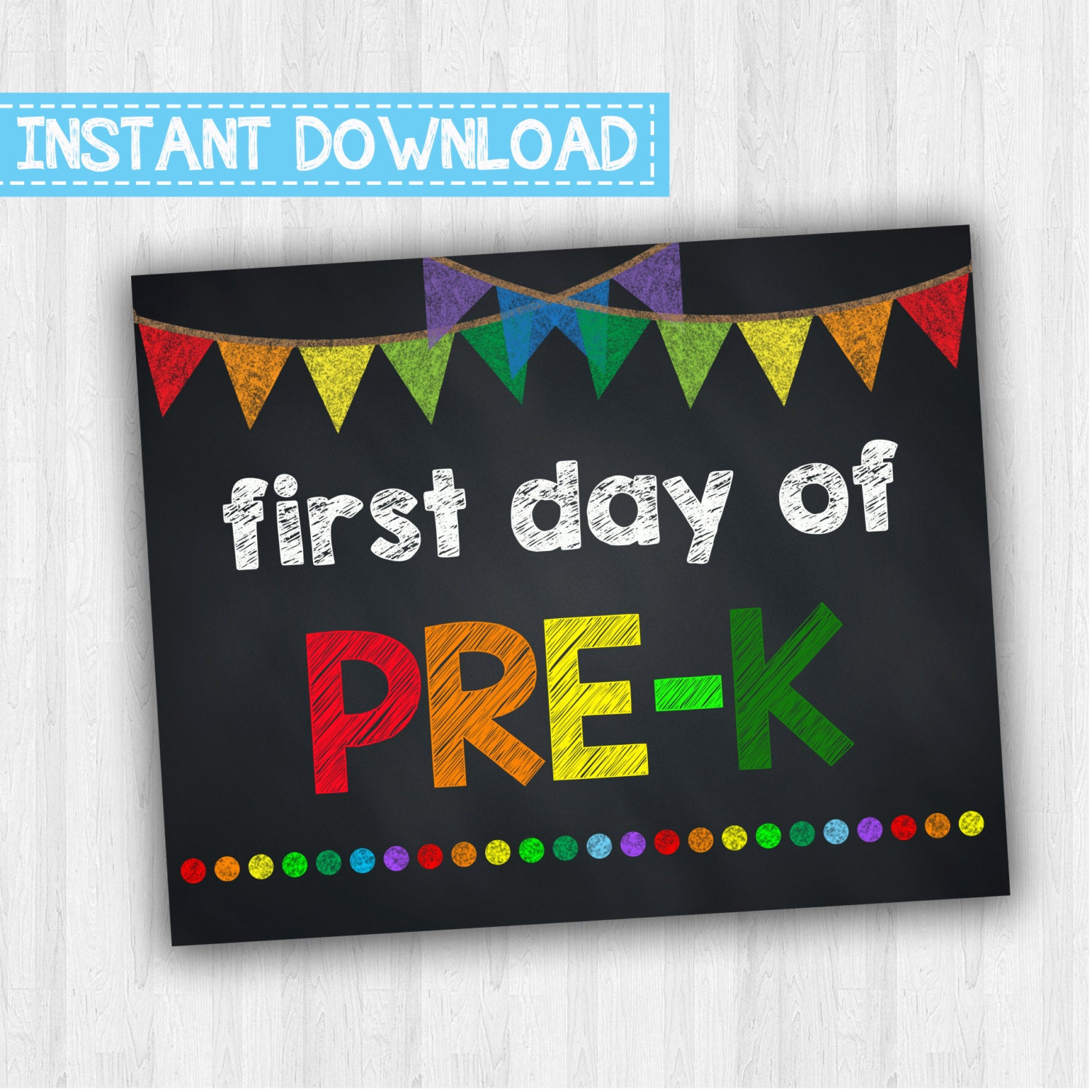 Luscious image within first day of pre k sign printable