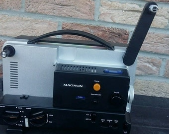 Projector Magnon super 8 and 8mm dx 87 duomatic