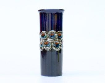 ES keramik vase with Peacock eyes