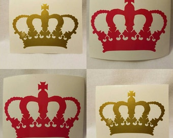 Queen All Day Everyday Crown Decal