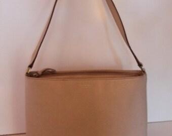 Kate Spade - Beige Pebble Leather Handbag