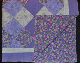 Purple Sparkle Quilt