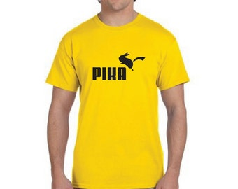 Pokemon Pika Parody shirt
