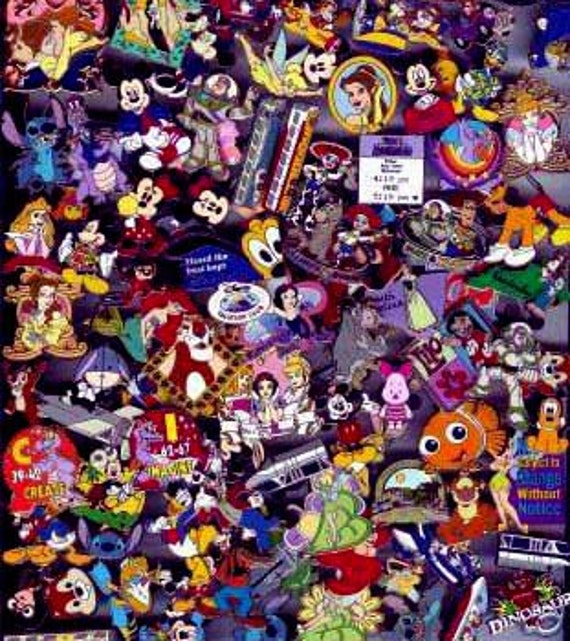 Disney Trading Pins 25 Count Lot