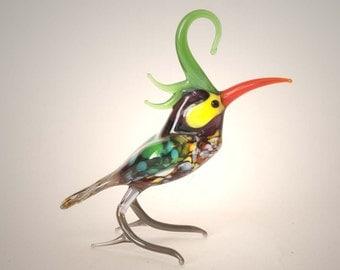 "The figurine from a glass ""Kakadu"""