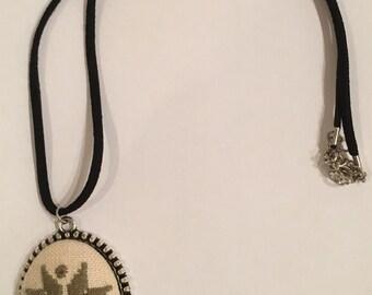 Lefkara Lace necklace