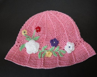 Embroidered child's hat