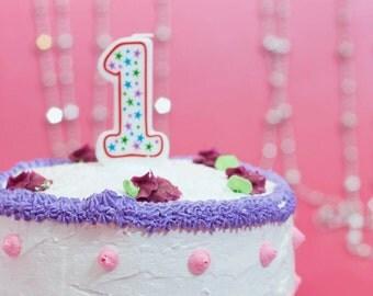 Girl 1st Birthday Smash Cake