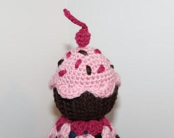 Pink Cupcake Lovey