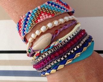 Bracelet brésilien typique du brésil breloques neuf