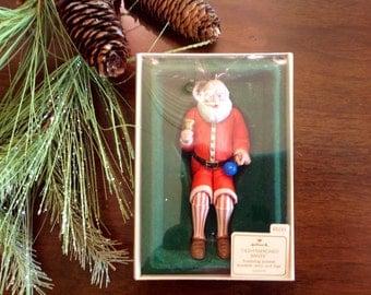 "1983 Hallmark Ornaments ""Old Fashioned Santa"""