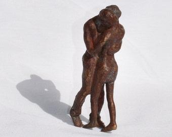 """Bronze sculpture """"Dancing"""""""