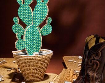 Cactus Camaleo Pattern Green