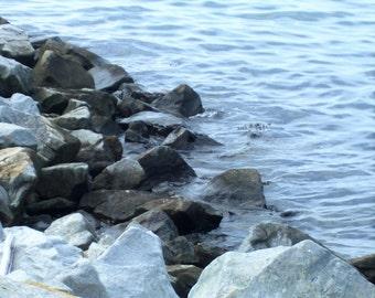 Rock Beach Photograph