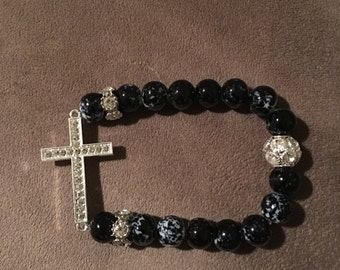 EnerBead Black Cross