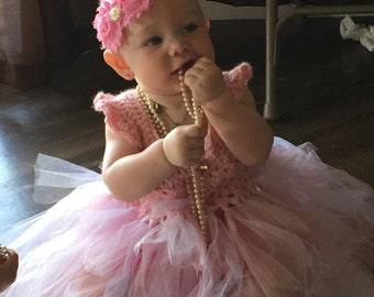 Crochet Angle Tutu dress up dress