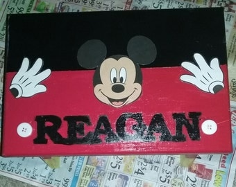 Customized  Hand Painted Foot Stool