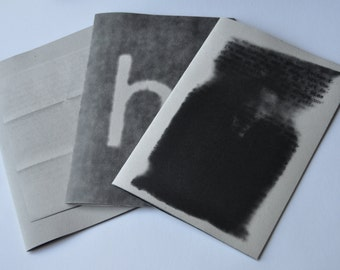 3 Photo Zines- Unrequited Love Series