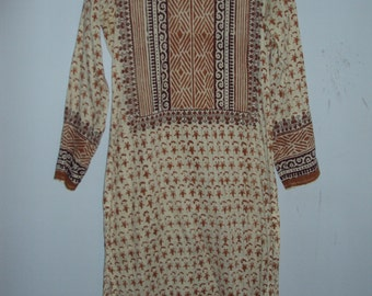 Vintage Kurti (Kurta) from India