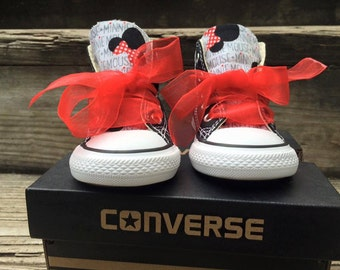 Minnie Mouse custom converse