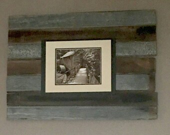Barnwood wall frame, decor