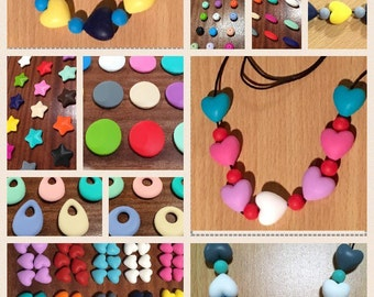 DESIGN YOUR OWN! Gorgeous Teething Necklace/ Bracelet