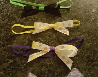 Hair Clips and Head Bands (custom and made to order)