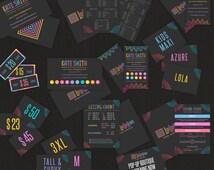 LuLaRoe Chalkboard Marketing Kit, Free Fast Personalization, LuLaRoe 12 Products Pack, Consultant LuLaRoe Pack, Lularoe Business Sets