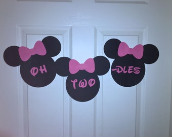 Minnie Mouse Custom banner