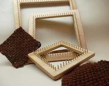 Pin Loom Kit, Pin Loom, Zoom Loom, Square loom, Weaving Loom, Frame Loom
