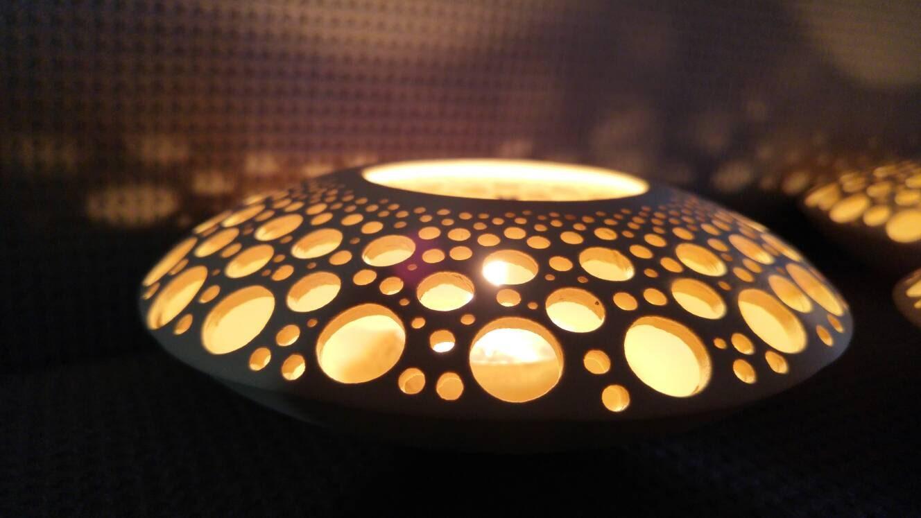Candle holderceramichandmadelightwhite candle holderspace ship candle holderceramichandmadelightwhite candle holderspace ship arubaitofo Gallery
