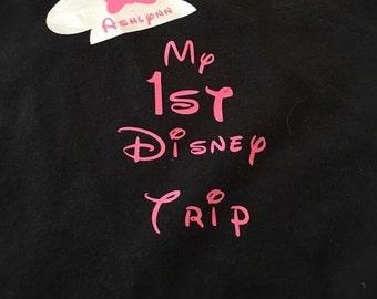 First Disney trip onesie