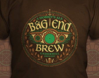 Bag End Brew - The Lord of the Rings T-Shirt - Men's / Unisex & Women's Fit