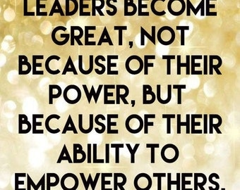 Leadership Printable Quote