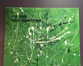 Stone Roses Lyric Canvas