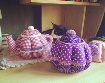 Tilda Textile Teapots (3D Patchwork)