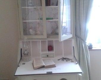 Bureau and bookcase- art deco style top