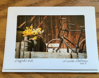 Hand Crafted Photo Note Cards