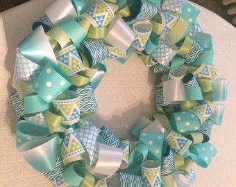 10 inch ribbon wreath