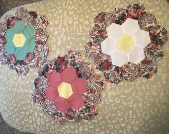 Flower Garden Quilt Blocks