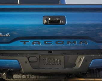 Tacoma Toyota Tailgate Decal Inserts 2016+
