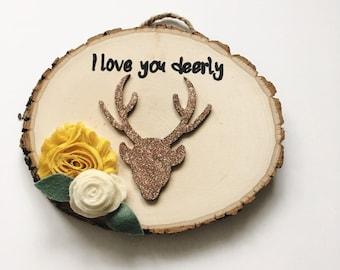 halloween gallery wall decor hallowen walljpg i love you deerly sign deer sign woodland nursery decor wood sign